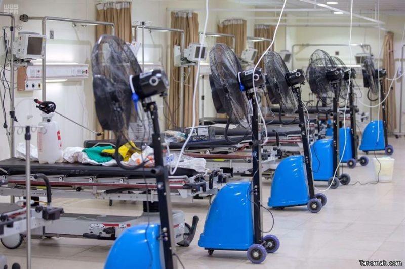 """""""الصحة"""" تستعد للتعامل مع حالات الإجهاد الحراري والأمراض المتعلقة بالحرارة خلال موسم الحج"""