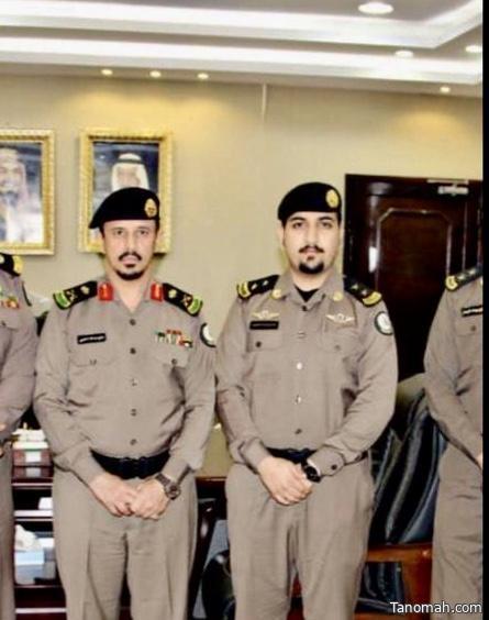 ترقية الملازم/سعد محمد الشهري الى رتبة ملازم اول