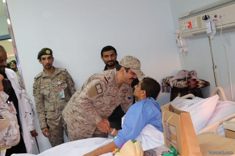 مستشفيات القوات المسلحة بالجنوب تنظم حفل معايدة