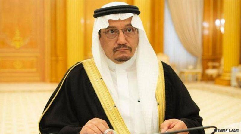 وزير التعليم يهنئ خادم الحرمين الشريفين وولي عهده بعيد الأضحى ونجاح موسم الحج