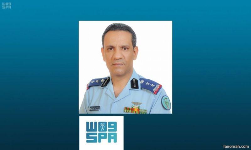 """التحالف:تسقط طائرة """"مسيّرة"""" أطلقتها المليشيا الحوثية من صنعاء باتجاه المملكة"""