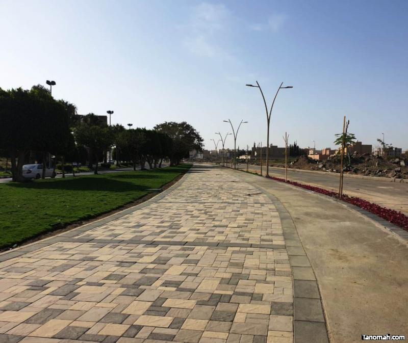 أمانة عسير تنجز 90% من مشروع ممشى المطار بأبها