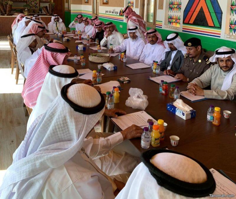 إنطلاق ورشة عمل اللجنة التجارية السياحية ببللحمر مع رؤساء المراكز والإدارات الحكومية والمجلس البلدي