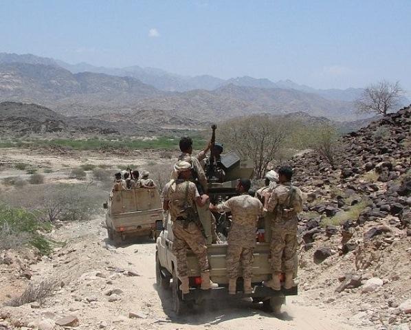 الجيش اليمني يحرز تقدماً جديداً في #الضالع