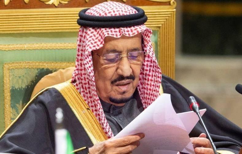 خادم الحرمين الشريفين يؤكد على أهمية التهدئة في اتصال مع رئيس #العراق