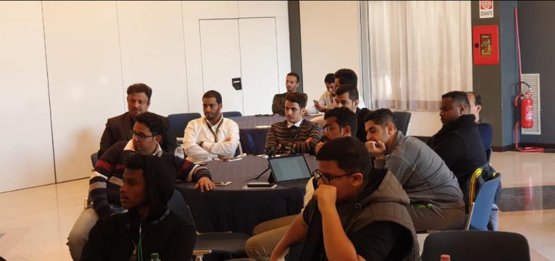 المتميزون بالتدريب التقني يشاركون في  الملتقى العالمي حول الشباب وصناعة المستقبل بإيطاليا