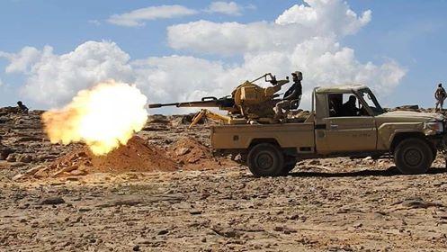 الجيش اليمني يقتل عدد من مليشيا الحوثي في نهم