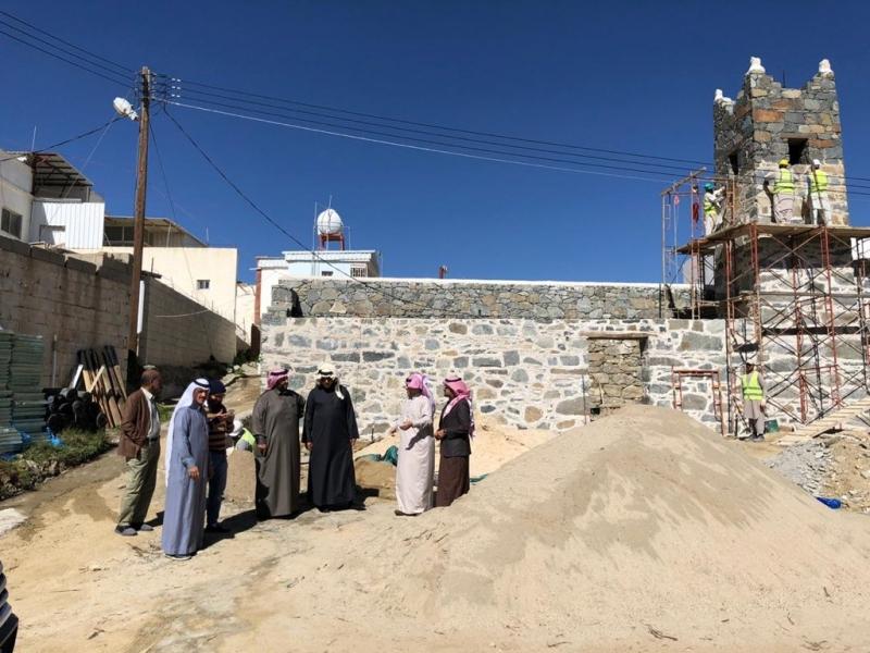 #هيئة_السياحة تحدد مسجدين للتطوير في محافظة #النماص