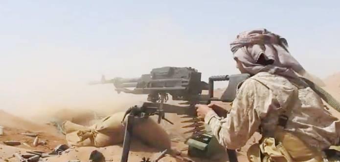 مقتل 35 حوثياً في مواجهة مع #الجيش_اليمني