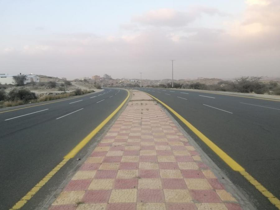 انتهاء المرحله الاولى من تطوير طريق #عفراء في #بلقرن