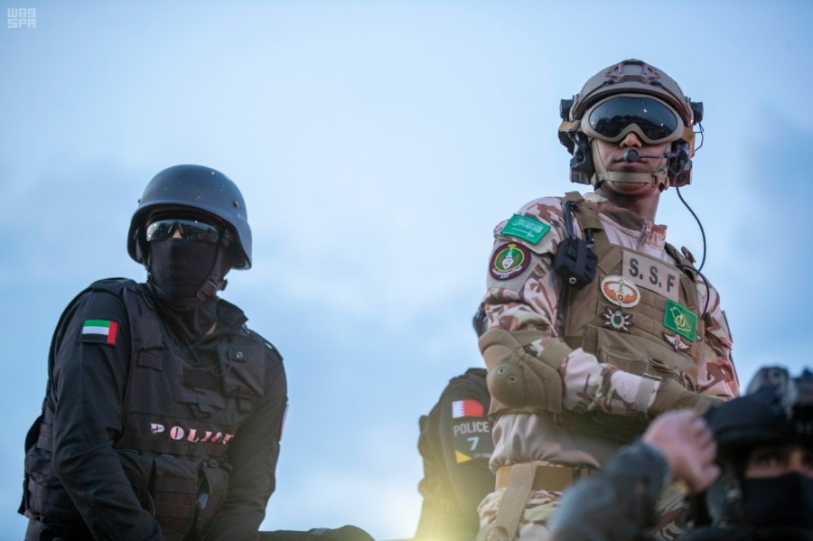 #صور من تمرين أمن الخليج العربي 2