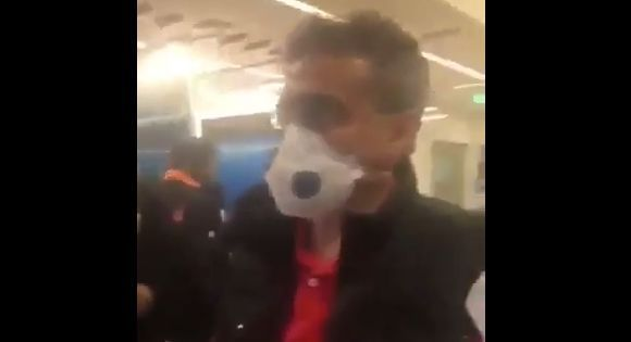 #فيديو  كويتيون عائدون من #إيران يرفضون إجراءات فحص #كورونا