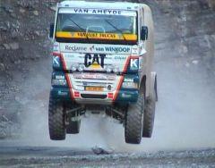 انطلاق فعالية رالي الشاحنات بمتنزه الحبلة  ضمن مهرجان أبها