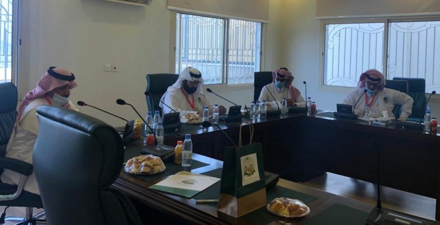 تنومة توقع اتفاقية مبادرة المساند البلدي مع نشامى عسير