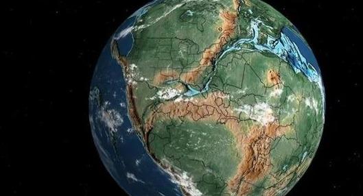موظف في #قوقل يطور خريطة تفاعلية تحدد موقع مسقط رأسك منذ 750 مليون عام