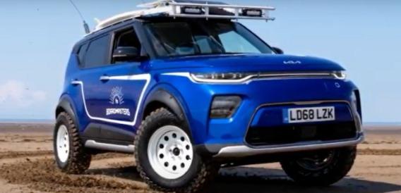 سيارة Soul الشهيرة من كيا تتحول لمركبة مميزة للطرق الوعرة