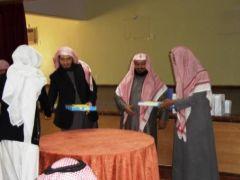 مدرسة زيد بن ثابت تحقق المركز الأول في فروع مسابقة القرآن الكريم بتنومة