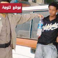 شرطة تنومة تقبض على مروج خمور اثيوبي