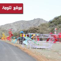 سفلتة شوارع تنومة وتطوير المنتزهات بأكثر من 6 ملايين ريال