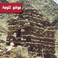 مقابر 3 طوابق مزينة بالنقوش على ضفاف وادي عياء