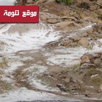 تقرير مصور ... أمطار تنومة ـ الخميس 22/4/2010