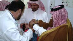 رئيس مركز تنومة يدشن حملة التطعيم ضد شلل الأطفال