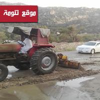أهالي قنطان يفتحون الطرق بمعداتهم والبلدية تمتنع «لعدم الاختصاص»