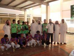 اختتام بطولة مجمع زيد بن ثابت بتنومة لكرة القدم للمرحلتين المتوسطة والثانوية