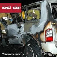مجهولون يضرمون النار في سيارة معلم بالنماص