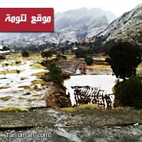 تقرير مصور عن أمطار  تنومة اليوم الثلاثاء