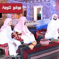 قناة المجد تسجل ثلاثين حلقة من برنامج( بينات) في تنومة