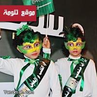 اللون الأخضر يغطي مدن ومحافظات المملكة إحتفاء بيوم الوطن