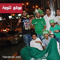 صور من مظاهر الاحتفال باليوم الوطني في جدة