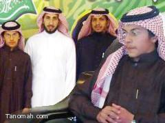 استقبال سعادة مدير مكتب التربية والتعليم للطالب الموهوب : محمد عوض