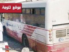 حريق محدود في حافلة نقل طالبات بتنومة
