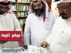 الإعلامي (محمد بن فراج) يدعم مشاركة تنومة في الجنادرية بـ 500 نسخة من الكتب