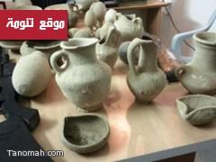 مواطن يقتني أكثر من 5 آلاف قطعة أثرية في منزله