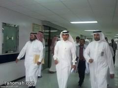 مدير صحة عسير يتفقد الخدمات في مستشفى النماص
