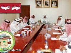 محافظ النماص يرأس المجلس المحلي بالمحافظة