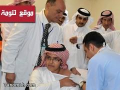 بدء الحملة الوطنية للتطعيم بمنطقة عسير