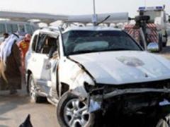 حادث مروري يودي بحياة خمسة من اسرة واحدة