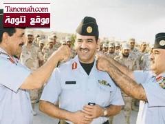 قائد مدارس الحرس الوطني يقلد  عبدالرحمن بن علي أبو ساعي الشهري رتبته الجديدة