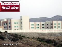 لجنة من جامعة الملك خالد تتسلم مبنى كلية علي بن سليمان