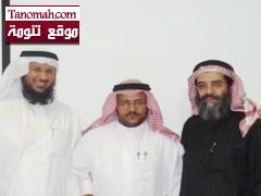 درجة ( الماجستير ) للأستاذ عبدالله بن مرعي في تخصص ( الإدارة والإشراف التربوي )