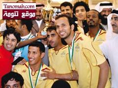 نادي السروات بطلاً لبطولة منطقة عسير و40 الف من رئيس النادي مكافأت
