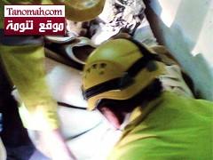 ضحية جديدة لمثبت السرعة في أبو عريش وشباب يكشفون عن حل لمشكلة التعليق