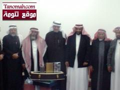 تكريم المعلم القدير فايز بن ظافر بن عبدالرحمن الشهري