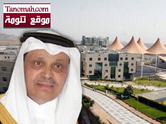 الشيخ علي بن سليمان يزف البشرى  بإعتماد فرع جامعة الملك خالد  في تنومة