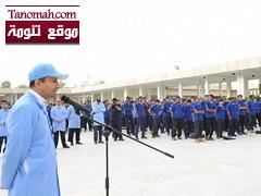 الغفيص يكرم فايز عبدالرحمن الشهري