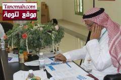 إتفاق على خطط العمل وجمع أكثر من 350 ألف ريال  من أعضاء اللجنة